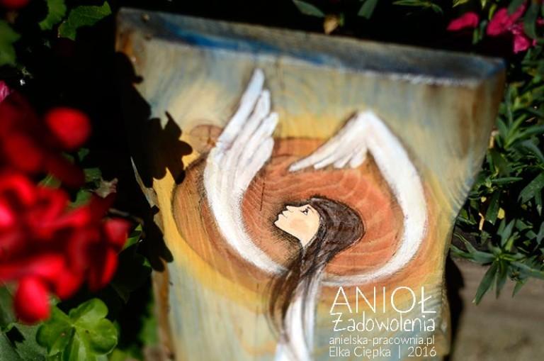 Anioł Zadowolenia - prezent dla tych, którym brakuje radości z życia i zadowolenia z tego, co wokół nich, w nich samych i w ich życiu