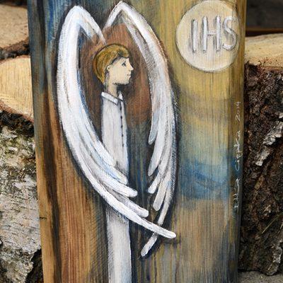 Anioł Komunijny dla chłopca - na prezent z okazji komunii świętej