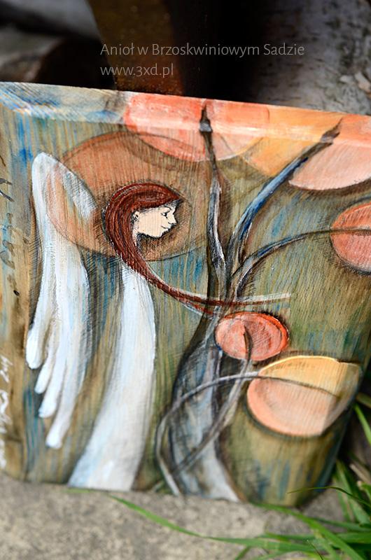 Anioł w Brzoskwiniowym Sadzie - może stanowić upominek dla kogoś bliskiego, o kim ciepło myślisz