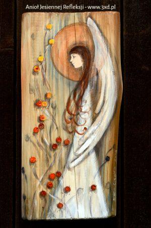 Anioł Jesiennej Refleksji pobudza do przemyśleń i zadumy. Może być anielskim prezentem dla każdego, kto potrzebuje refleksyjnego Anioła.