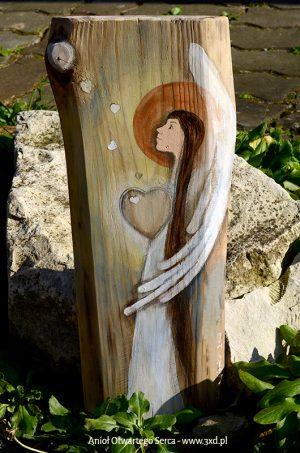 Anioł Otwartego Serca to wspaniały podarunek dla ludzi z otwartym sercem dla innych