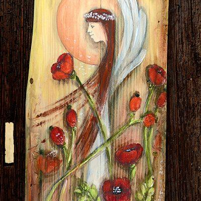 Anioł w Różanych Objęciach   Prezent na każda okazję i dla każdego kochającego kwiaty