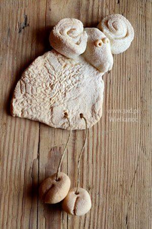 Baran Wielkanocny rogaty to ozdoba na Wielkanoc do powieszenia w dowolnym miejscu :) lub jako świąteczny upominek