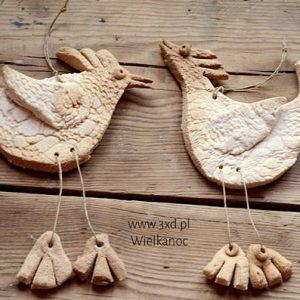 Kurak Wielkanocny to ozdoba na Wielkanoc do powieszenia w dowolnym miejscu :) lub świąteczny upominek