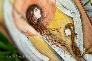 """""""Złocisty Anioł Stróż"""" jest oryginalnymprezentem zarównonaChrzest Święty, jak i na Pierwszą Komunię Świętą oraz kolejne wydarzenia w życiu"""