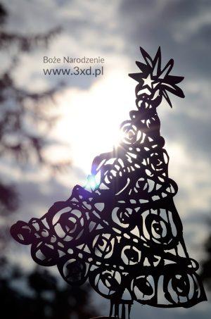 choinka - do dekoracji na Boże Narodzenie