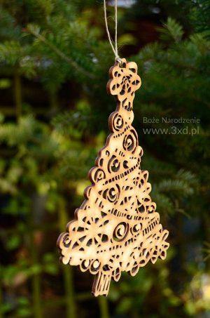 choinka - drobnostka na Boże Narodzenie