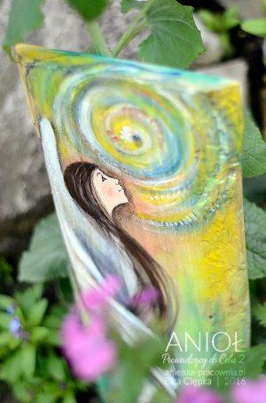 Anioł Prowadzący do Celu - w odcieniach zieleni