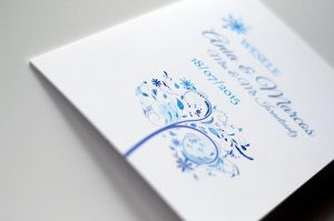 ślubna papeteria - winietki weselne, numery stolików, menu