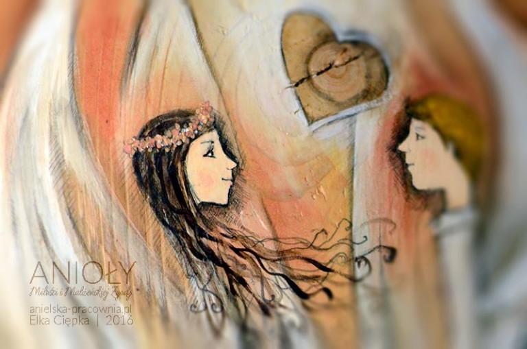 Anioły Miłości i Małżeńskiej Zgody - prezent na ślub dla nowożeńców