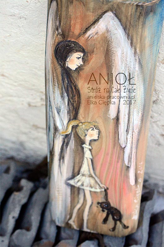 Anioł Stróż na Całe Życie dla dziewczynki lub chłopca