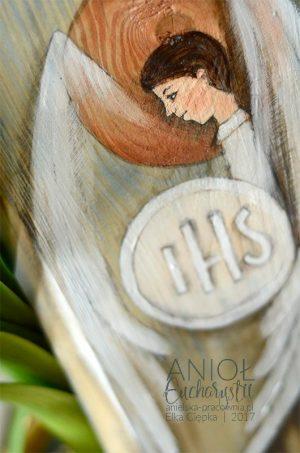 Anioł Eucharystii - prezent na komunię dla chłopca