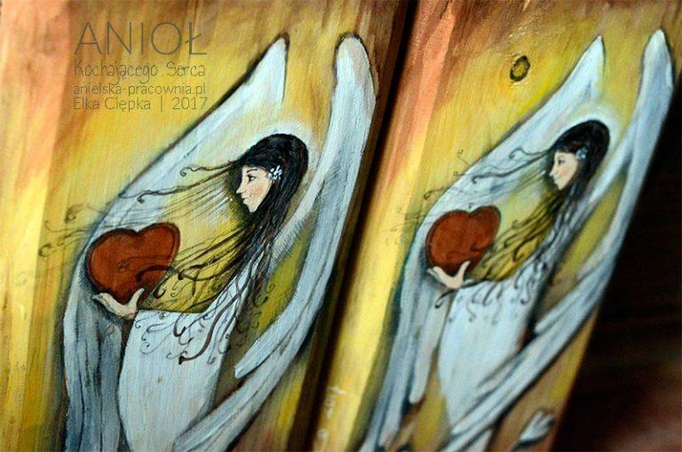 """Anioł Kochającego Serca - """"jeżeli kochasz w serce patrz""""!"""