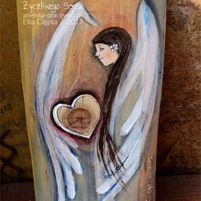 """""""Anioła Życzliwego Serca"""" podaruj temu, kto okazał Ci takie serce"""