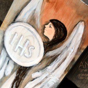 Anioł Pierwszokomunijny zarówno dla dziewczynki jak i chłopca
