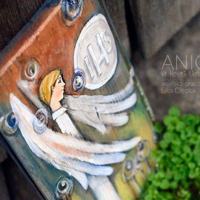 Anioł w Hostii Umocniony - prezent dla Chłopca na Pierwszą Komunię Świętą
