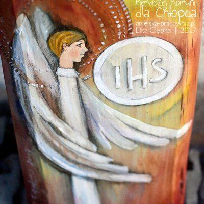 Anioł Pierwszej Komunii dla Chłopca - pamiątka na całe życie