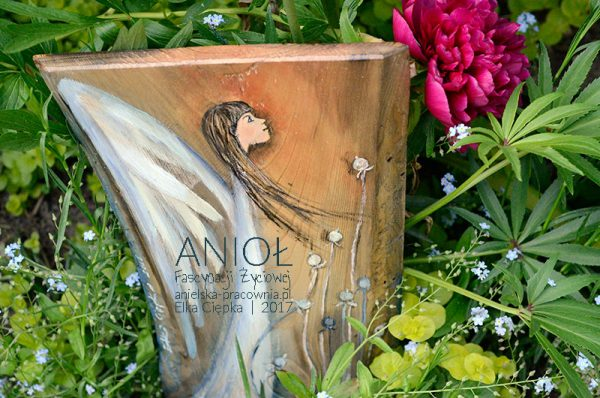 Anioł Fascynacji Życiowej pomoże w realizacji życiowych planów i spełnianiu życiowych pasji