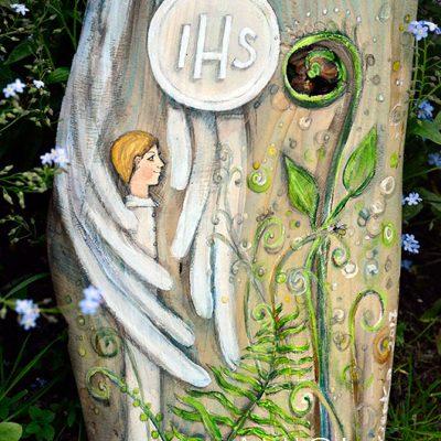 Anioł w Zgodzie z Naturą to oryginalny prezent dla chłopca na komunię