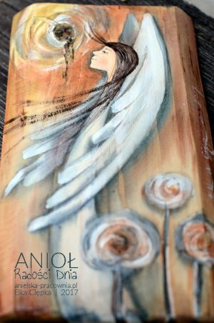 Anioł Radości Dnia - dla doceniających radości każdego dnia
