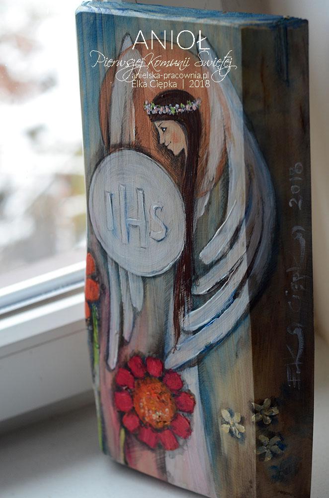 Anioł Pierwszej Komunii Świętej - piękny prezent na komunię