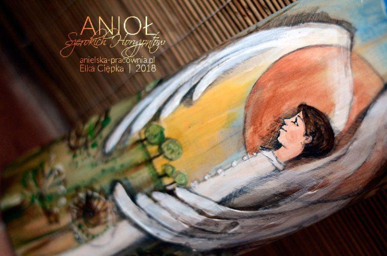 Anioł Szerokich Horyzontów dla chłopca z okazji Pierwszej Komunii Świętej