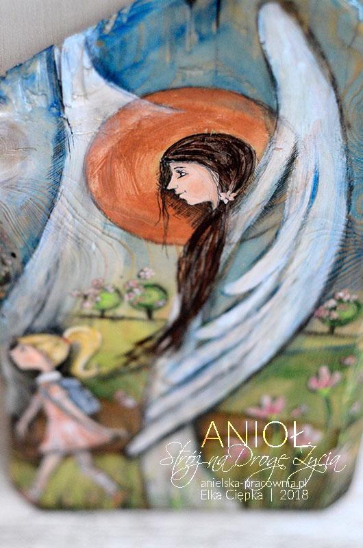 Anioł Stróż pomoże w wyborze właściwych dróg i ścieżek, aby dziecko nigdy nie zbłądziło i nie zeszło z właściwego szlaku życiowego