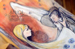 Anioł Matczynej Czułości jako prezent na chrzest