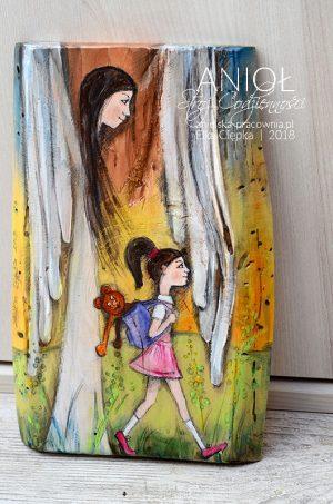 Anioł Stróż Codzienności - pilnuje dziecka codziennie i przy każdej czynności!