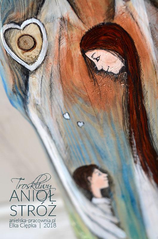 Troskliwy Anioł Stróż to prezent dla chłopca na każdą okazję.Będzie zarówno piękną pamiątką z okazji Chrzcin, jak i z okazji Pierwszej Komunii Świętej.