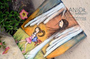 Anioł Stróż Codzienności strzeże dziecko od złego! To piękny prezent na chrzciny lub komunię.