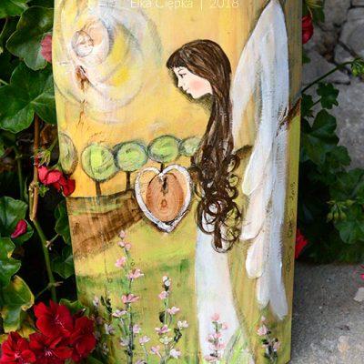 Anioł na Nową Drogę Życia to piękny prezent dla Młodej Pary na ślub