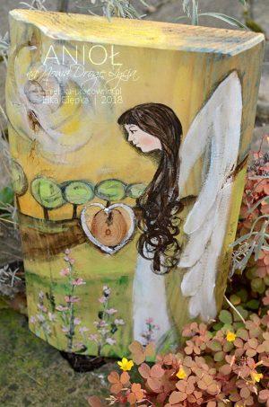 Anioł na Nową Drogę Życia dla nowożeńców z okazji ślubu