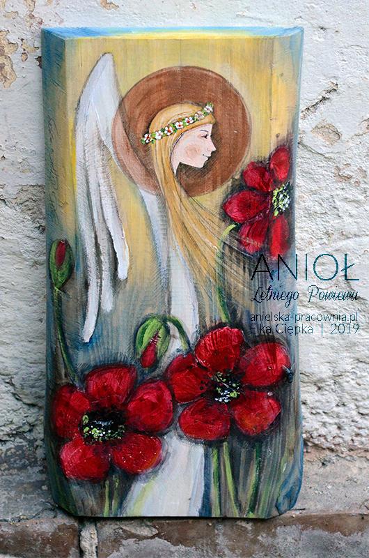 Anioł Letniego Powiewu doskonały na prezent z każdej okazji przez caaałe lato!