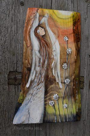 Anioł w Pełnym Blasku rozpromirniający wszystko i wszystkich wokół