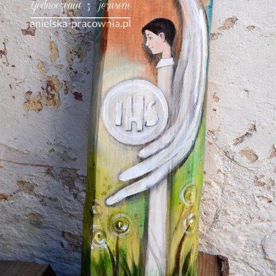 Anioł Zjednoczenia zJezusem - prezent dla Chłopca naPierwszą Komunię