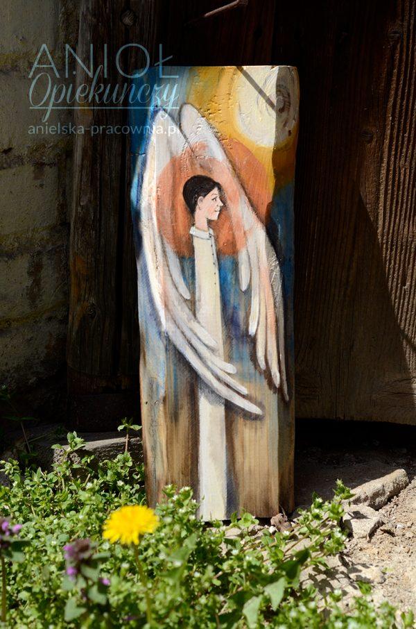 Anioł Opiekuńczy to oryginalny prezent dla chłopca na chrzest lub komunię