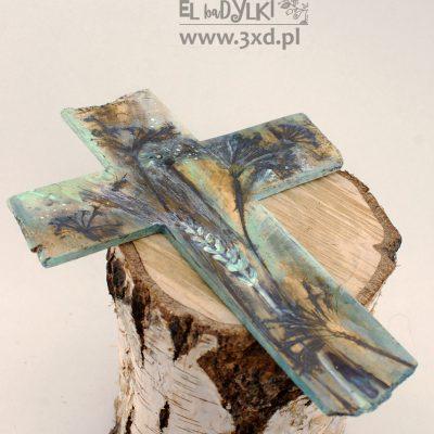 ELbaDYLKI - ceramiczny krzyż polny