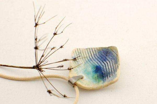 oryginalny naszyjnik ceramiczny na prezent